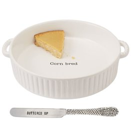Mud Pie Cornbread Baker Set
