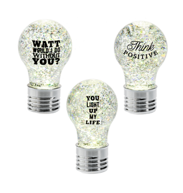 Text Bulb LED Mini Shimmer