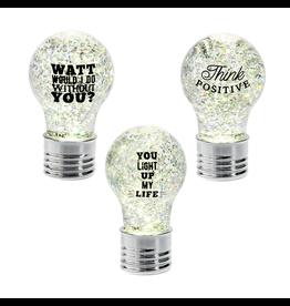 Text Bulb LED Mini Shimmer