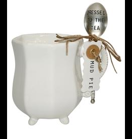 Mud Pie MP Tea Mug Set