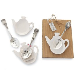 Mud Pie MP Teabag Spoon