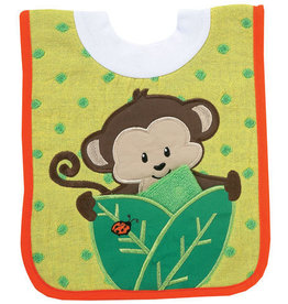 AM/PM Kids! Pullover Bib w/Washcloth