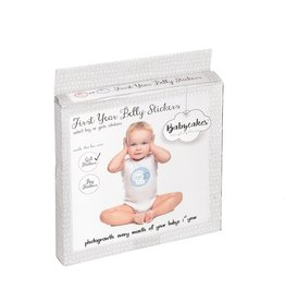 First Year Belly Stickers - PINK