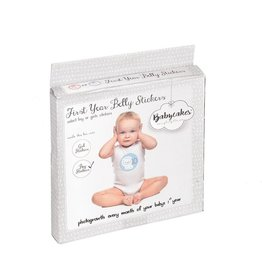 First Year Belly Stickers - BLUE