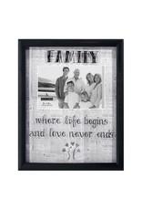 Malden 4x6 Family Newsprints Frame