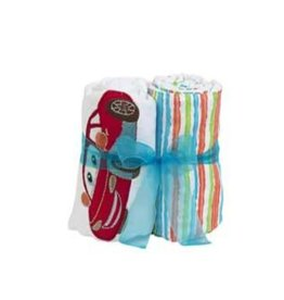 Maison Chic Carl Car Double Burp Cloth Gift Set
