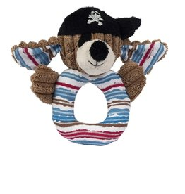 Maison Chic Patch the Pirate Dog Rattle