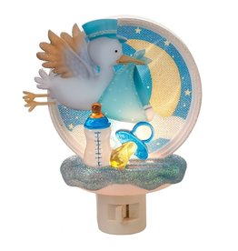 MIDWEST CBK Stork Night Light - Boy