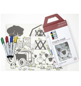 Modern-twist Farm Buddies Mark-Mat + 4 Markers