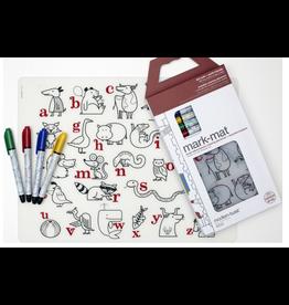 Modern-twist Alphabet Animals Mark-Mat + 4 Markers