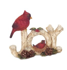 MelRose JOY with cardinal table piece