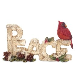 MelRose PEACE with cardinal table piece