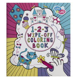 CR GIBSON Wipe-off Coloring Book