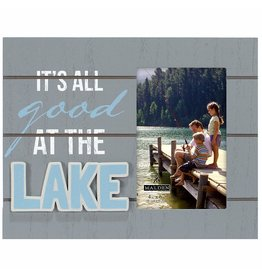 Malden 4x6 ALL GOOD AT THE LAKE Frame