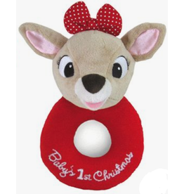 Kids Preferred Baby's 1st Christmas Ring Rattle - Clarice
