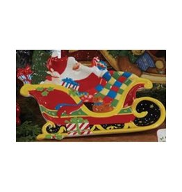 Certified International Corp A Night Before Christmas Tray