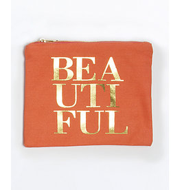 8 Oak Lane BEAUTIFUL Canvas Pouch
