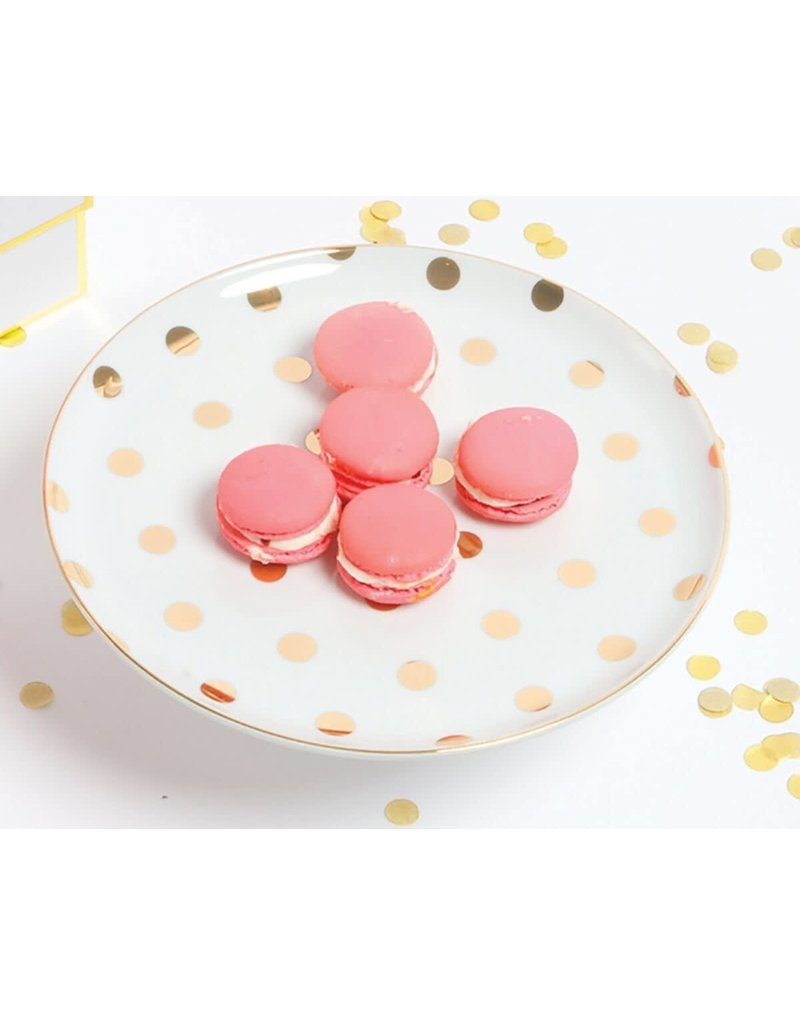 8 Oak Lane Cake Stand - Gold Dot