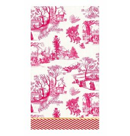 MICHEL DESIGN WORKS CHRISTMAS WONDERLAND Hostess Napkins