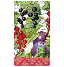 MICHEL DESIGN WORKS CURRANT Hostess Napkins
