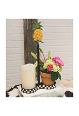 Round Top Collection Double Clay Pot/Candle Holder
