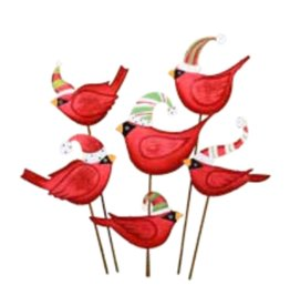Round Top Collection Ho Ho Birds in Hats
