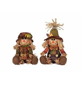 Transpac Plush Scarecrow Sitter