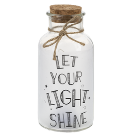 Light Up Twinkle Jar - LET YOUR LIGHT SHINE