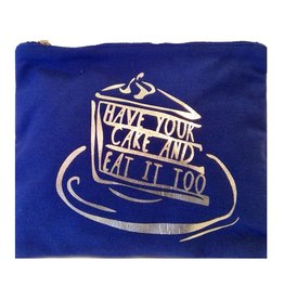 8 Oak Lane HAVE YOUR CAKE Canvas Pouch