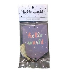 About Face Designs HELLO WORLD Air Freshener
