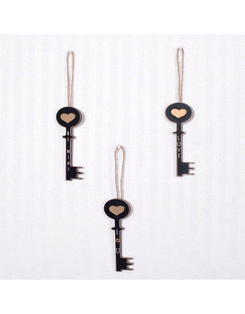 ADAMS & CO. Wood Keys  (LOVE)