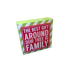 ADAMS & CO. THE BEST GIFT Box Frame