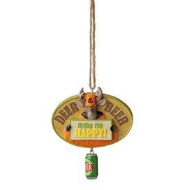 MIDWEST CBK DEER & BEER Ornament