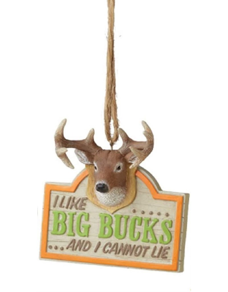 MIDWEST CBK I LIKE BIG BUCKS Ornament