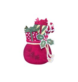 Round Top Collection Ho Ho Santa Bag - medium