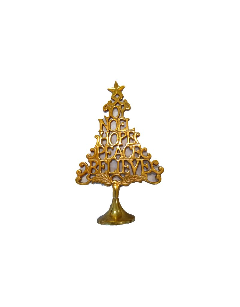 UMA ENTERPRISES INC. Gold JOY NOEL Tree