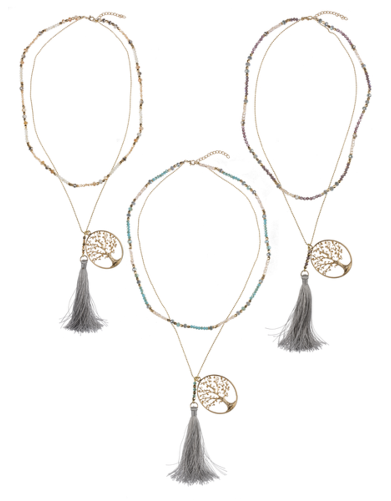 Tree of Life Family Necklace - neutral