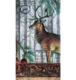 MICHEL DESIGN WORKS BALSAM FIR Hostess Napkins