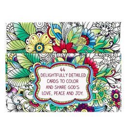 Christian Art Gifts Coloring Cards - Creative Expression