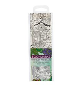 Christian Art Gifts Coloring Bookmarks Faith - Green