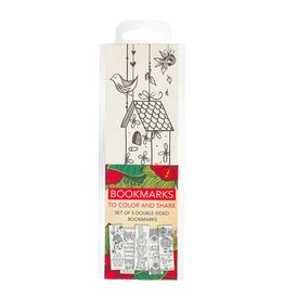 Christian Art Gifts Coloring Bookmarks Faith Red