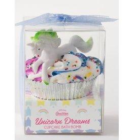 Feeling Smitten Large Unicorn Cupcake Bomb