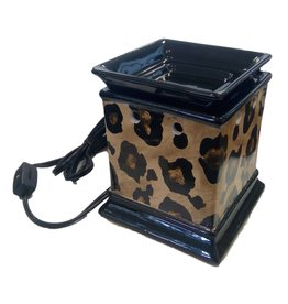 DRAKE DESIGN Decal Fragrance Warmer (Animal Print)