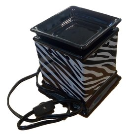DRAKE DESIGN Decal Fragrance Warmer (Zebra Print)