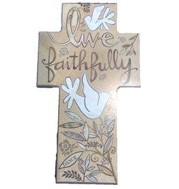 Beautiful Soul / Midwest CBK FAITHFULLY Wall Cross