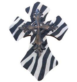 """DRAKE DESIGN Resin Zebra Cross (14"""")"""