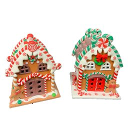 Transpac Gingerbread Houses