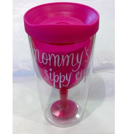 MOMMY'S SIPPY CUP Plastic Wine (8 oz)