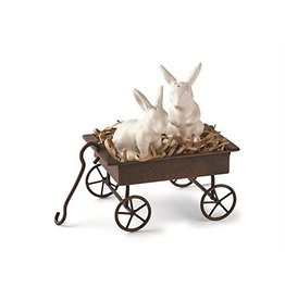 Mud Pie Bunny S&P Wagon