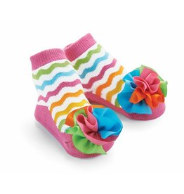 Mud Pie Grosgrain Puff Socks